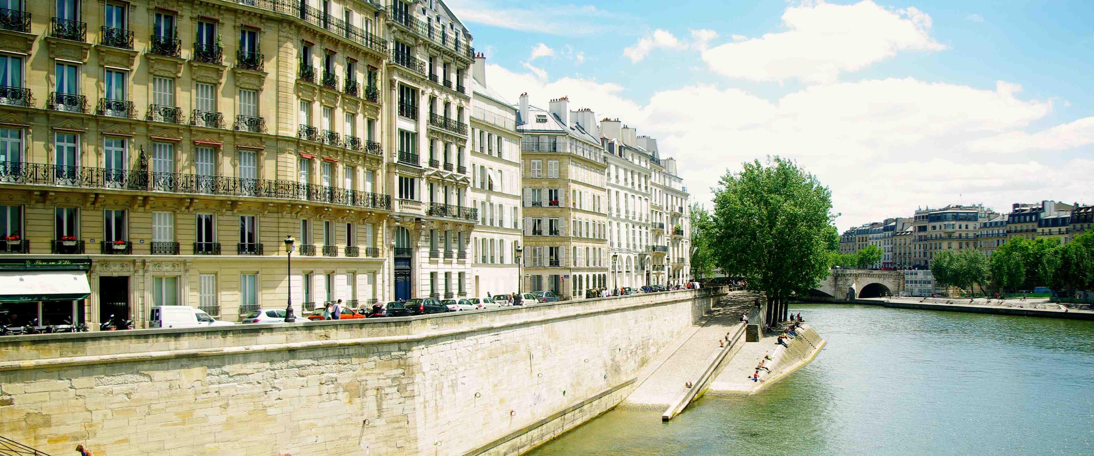 Photo Quai de Seine Jeu de Piste