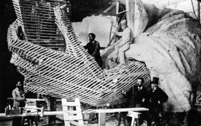 Quand la statue de la Liberté était le plus haut monument parisien !